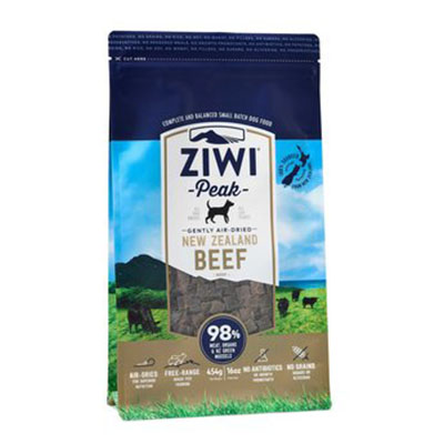 Ziwi Peak Dog Gently Air-Dried Beef 454 gr